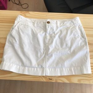 White Old Navy Skirt